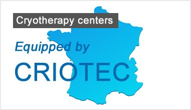 Cryotherapy centers equipped by Criotec